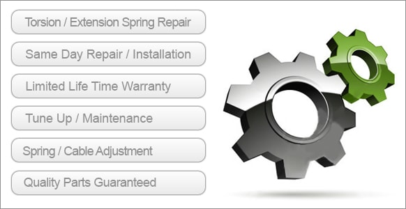 Encino Top Garage Door Spring Repair Service Torsion Extension